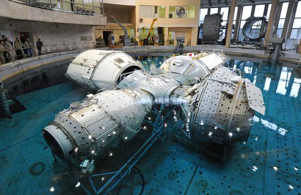 Laboratorium hidro, tempat para kosmonot 'melatih' kegiatan extravehicular. Foto: Roman Sokolov/RIA Novosti
