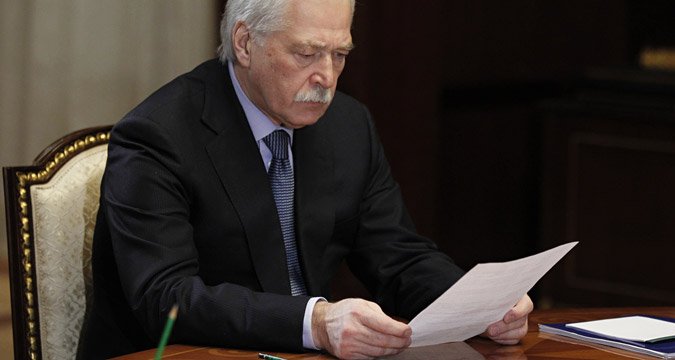 "Boris Gryzlov: ""Certain progress has been made in each of the groups."""