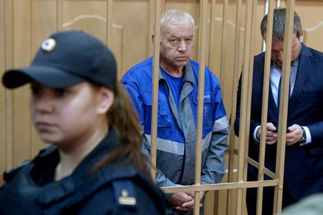 Le conducteur de la déneigeuse Vladimir Martynenko.