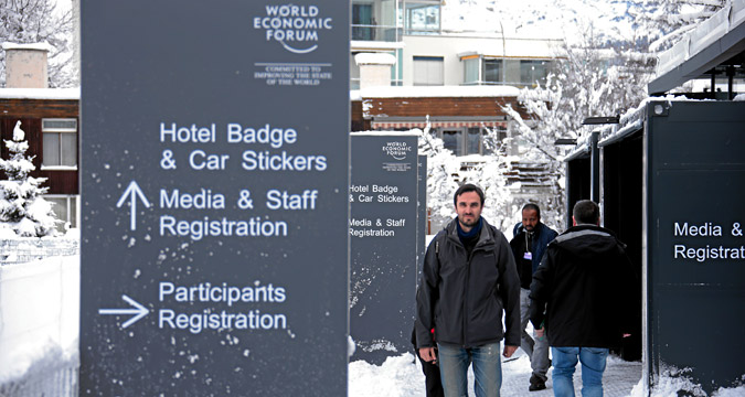 A Davos parteciperanno oltre 40 capi di Stato e di Governo e 2.500 tra capi-azienda, accademici e altre figure di rilievo del mondo della politica e dell'imprenditoria.