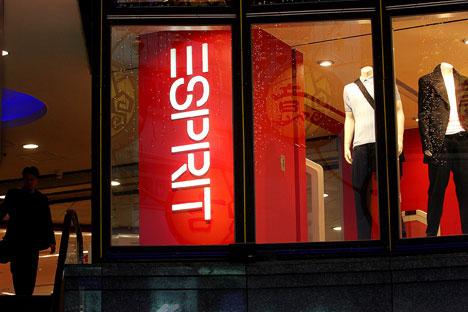 American Esprit closed its stores in Russia.