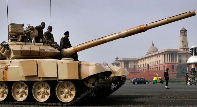 Indian Army T-90 Tank