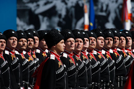 Cossack troops today are a separate branch of Russia's Armed Forces.