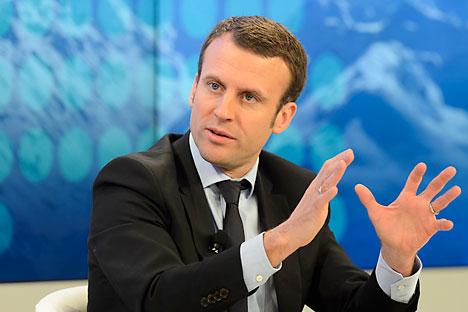 Presiden Perancis Emmanuel Macron.