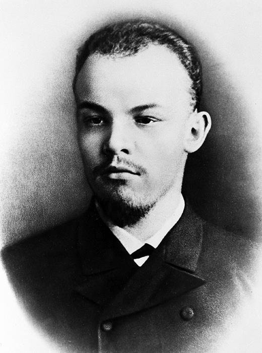 Vladimir Lenin durante il suo percorso di studi all'Università Statale di Sal Pietroburgo