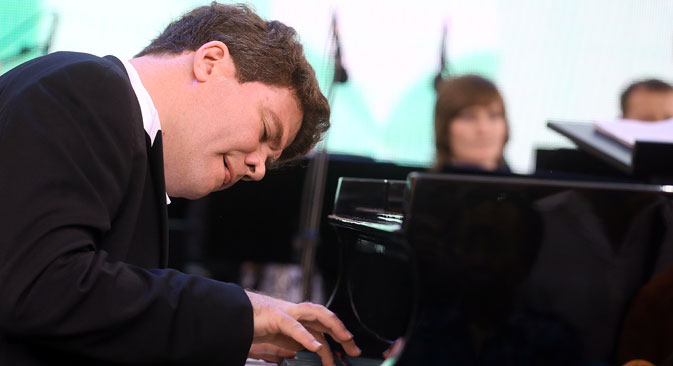 Russian pianist Denis Matsuev.