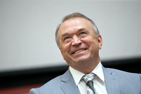 President of the Chamber of Commerce and Industry of the Russian Federation, Sergei Katyrin.