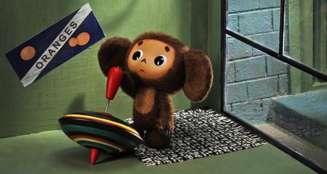 猿キャラクターチェブラーシカ