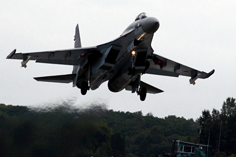 Contrato com Pequim estipula fornecimento de 24 unidades do Su-35S
