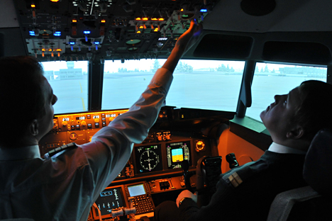 The number of unemployed pilots in Russia has recently increased.