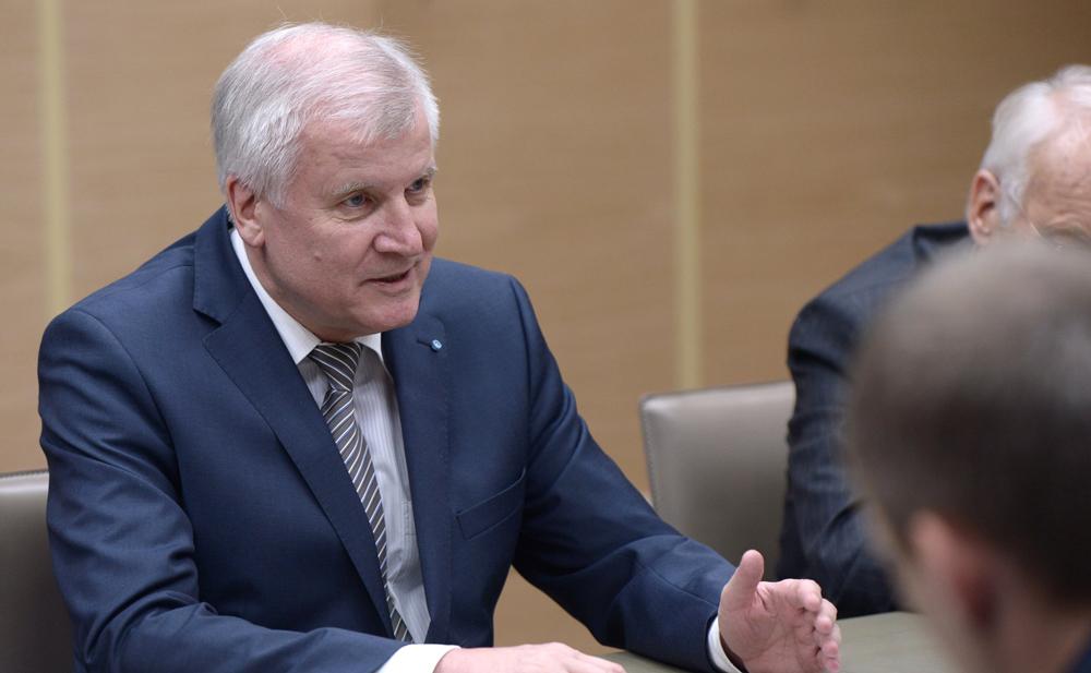 Prime Minister of Bavaria Horst Seerhofer.