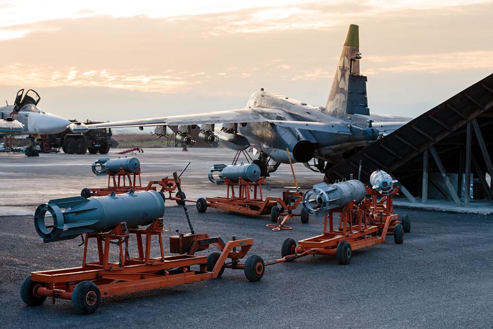 La base aérienne Hmeimim.