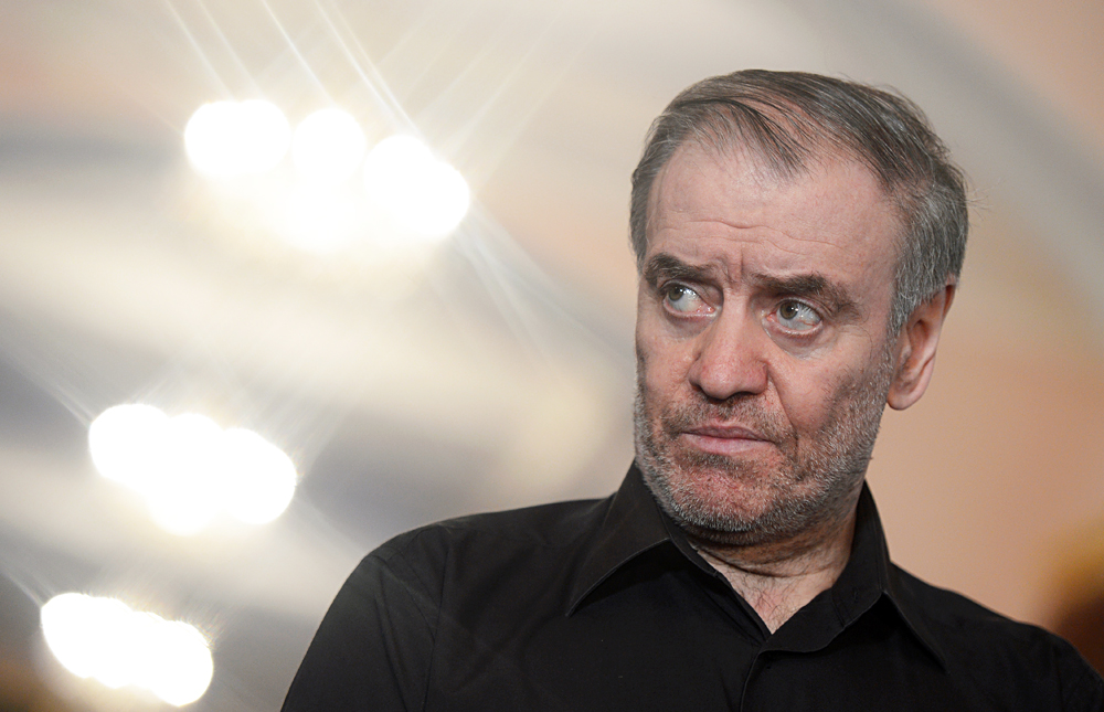 Music conductor and Mariinsky Theater artistic director Valery Gergiev.