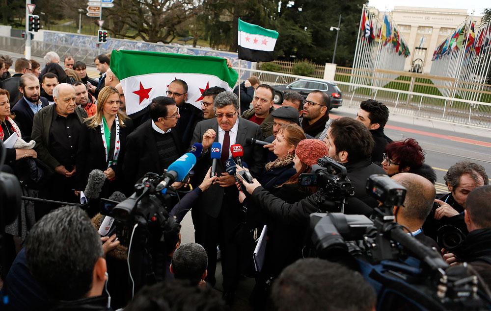 Салим ал Муслат, представник сиријске опозиције на преговорима у Женеви.