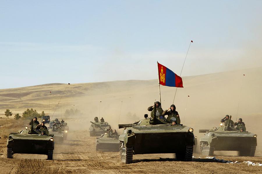 Selenga 2012 Russian-Mongolian exercises