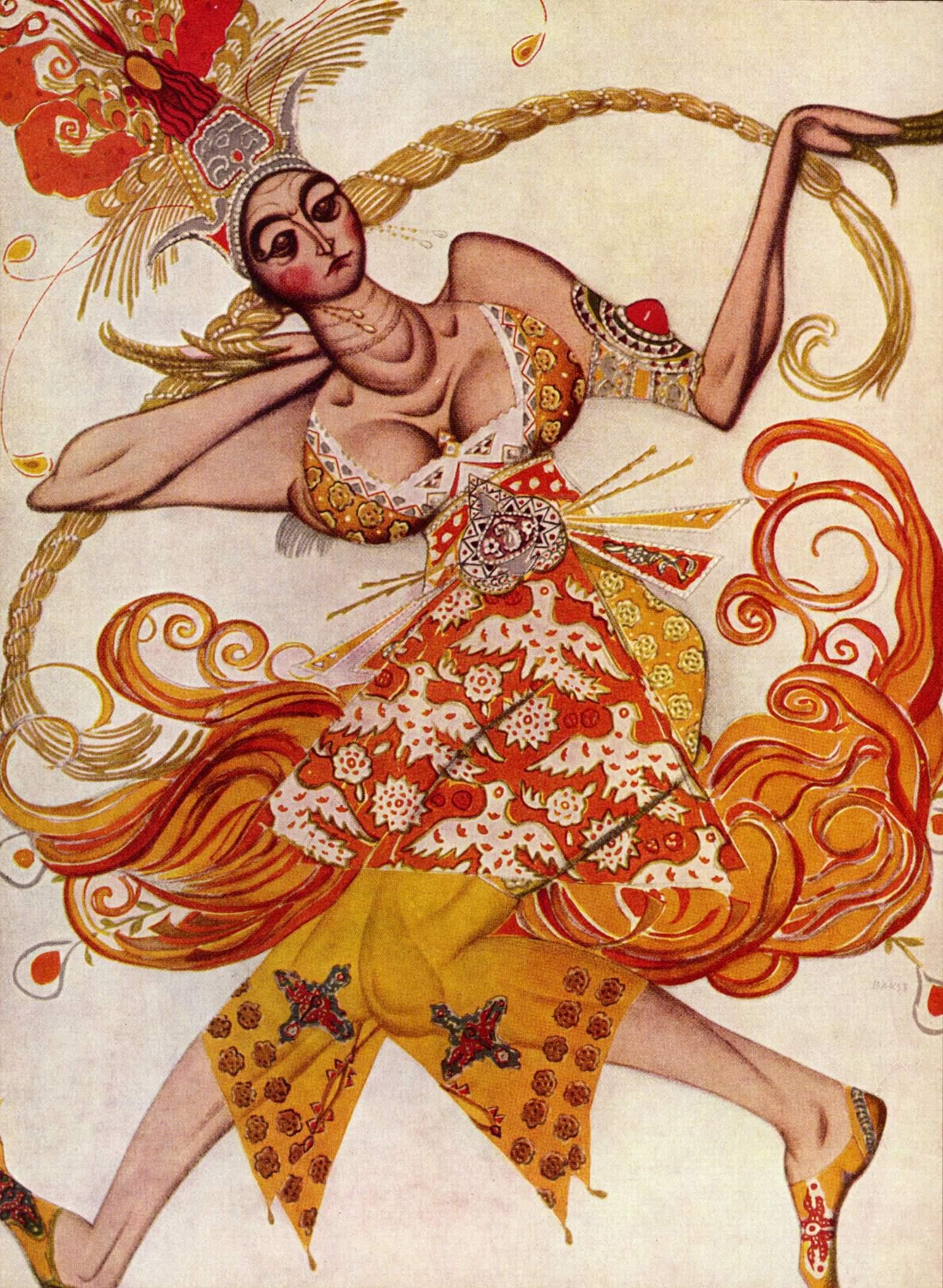 バレエ『火の鳥』(1910)のコスチューム=