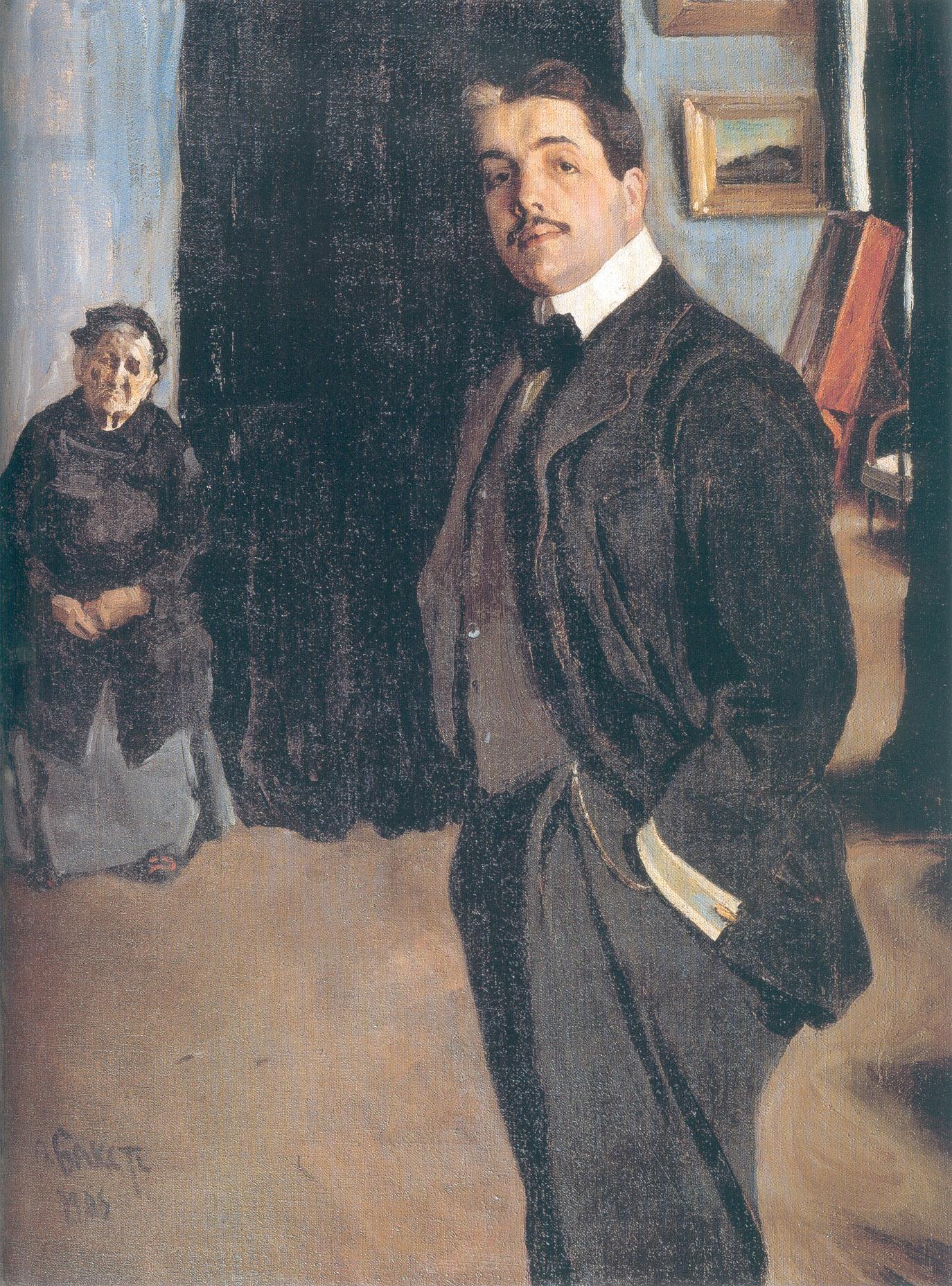 Portrait de Serge Diadhilev. Source libre