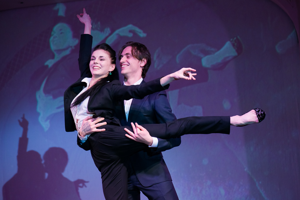 Polunin and Osipova at the Gift of life charity concert in London.