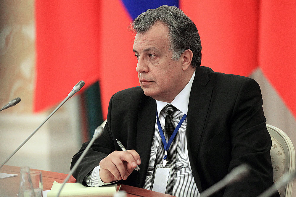 Der Botschafter der Russischen Föderation in der Türkei Andrej Karlow.