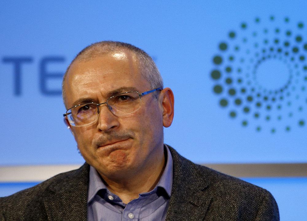 Former Russian tycoon Mikhail Khodorkovsky.