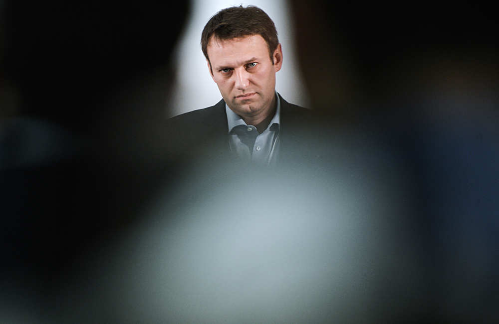 Opposition politician Alexei Navalny fined 20,000 rubles for unauthorized rally in Moscow.