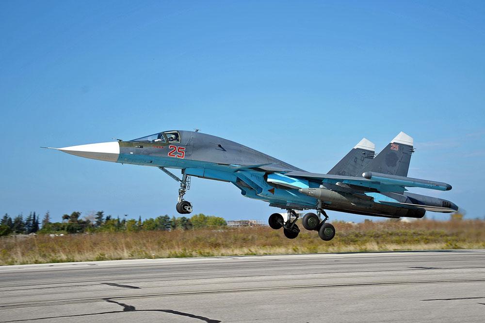 Тактички бомбардер Су-34. Извор: Дмитриј Виноградов / РИА Новости