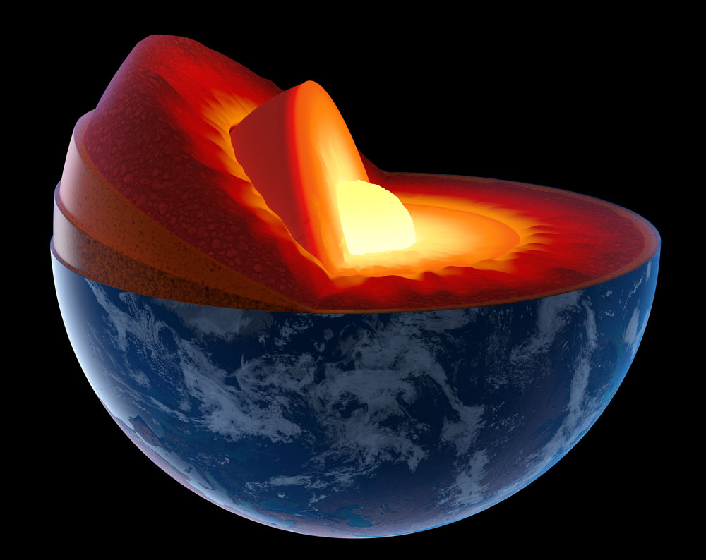 Scientists believe that the free oxygen rivers could either react with surrounding materials and oxidize them, or rise to upper layers inside the mantle.
