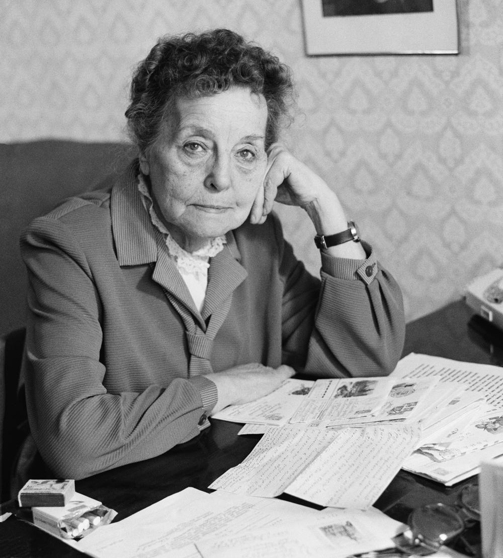Eine der bekanntesten sowjetischen Spioninnen Soja Woskresenskaja.