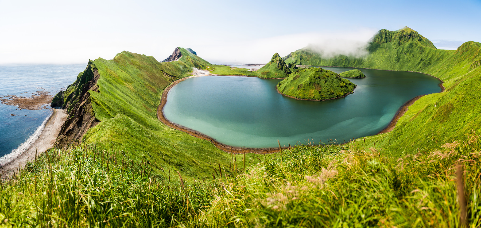 The Southern Kuril Islands have unspoilt nature.