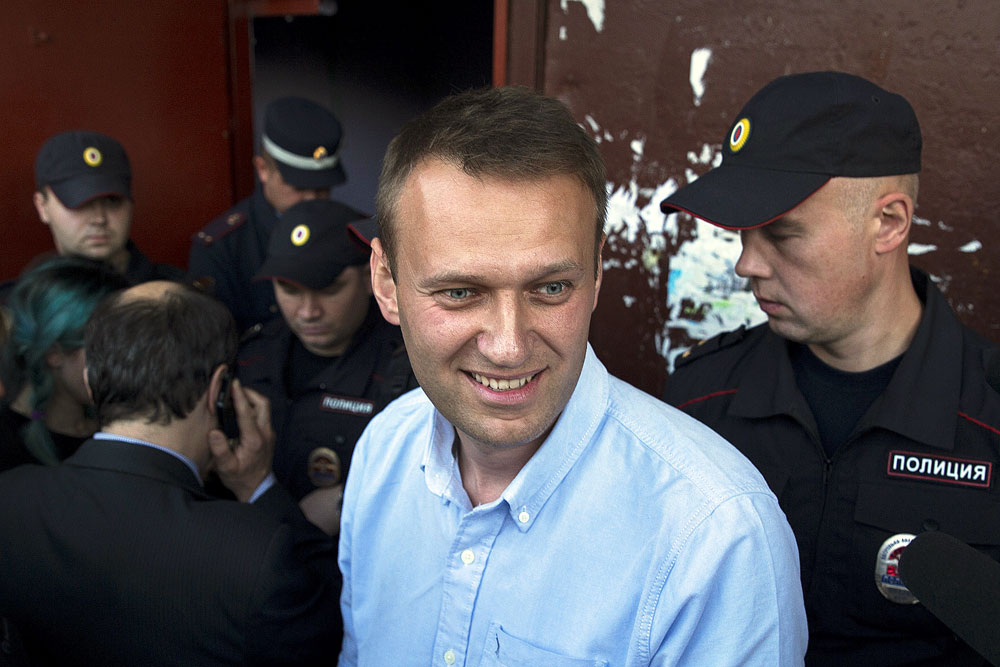 L'opposant Alexeï Navalny.