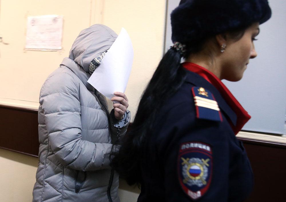 Varvara Karaoulova, étudiante russe enrôlée par Daech.