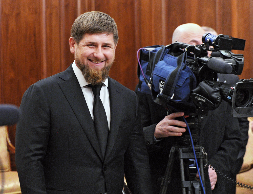 Head of the Chechen Republic Ramzan Kadyrov.