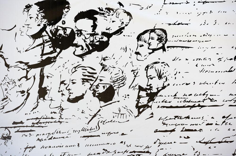 Los autógrafos de Alexander Pushkin. Fuente: Serguéi Pyatakov / RIA Novosti