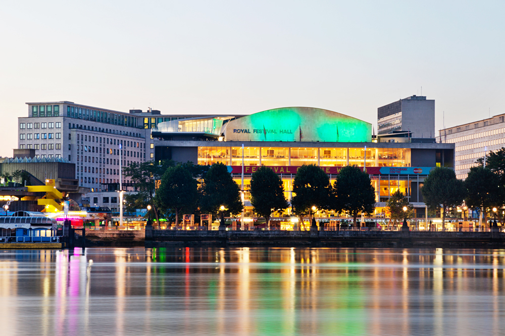 Royal Festival Hall attracted a glittering crowd of fans of Russian language and literature.