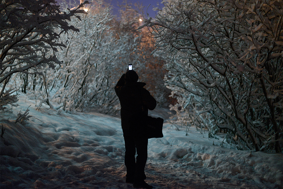 A polar night is something much more depressing: in Murmansk there is no sunlight at all from Dec. 2 through Jan. 11.