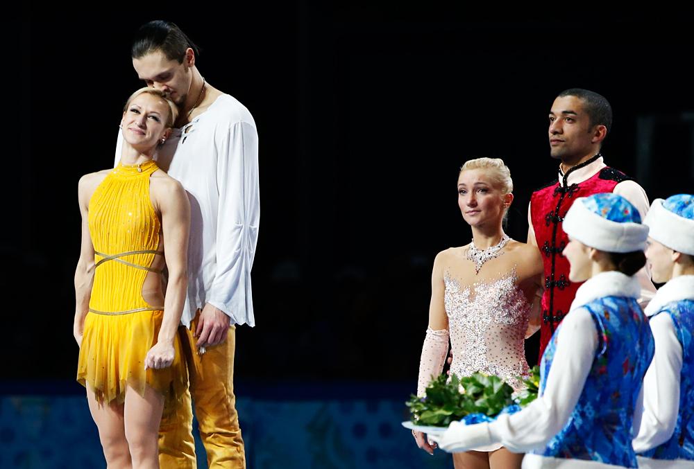 Bei den Olympischen Spielen in Sotschi gewann das russische Paar Wolossoschar/Trankow Gold. Die Hauptkonkurrenz aus Deutschland musste sich mit Bronze begnügen – ein schwerer Tag für Aljona Savchenko.