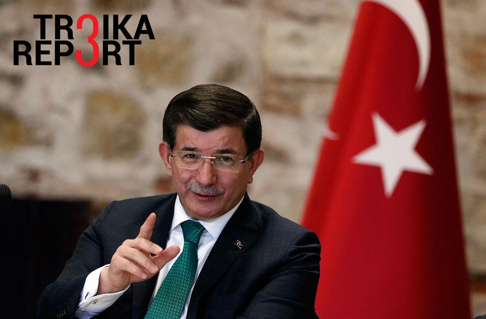 Turkish Prime Minister Ahmet Davutoğlu.
