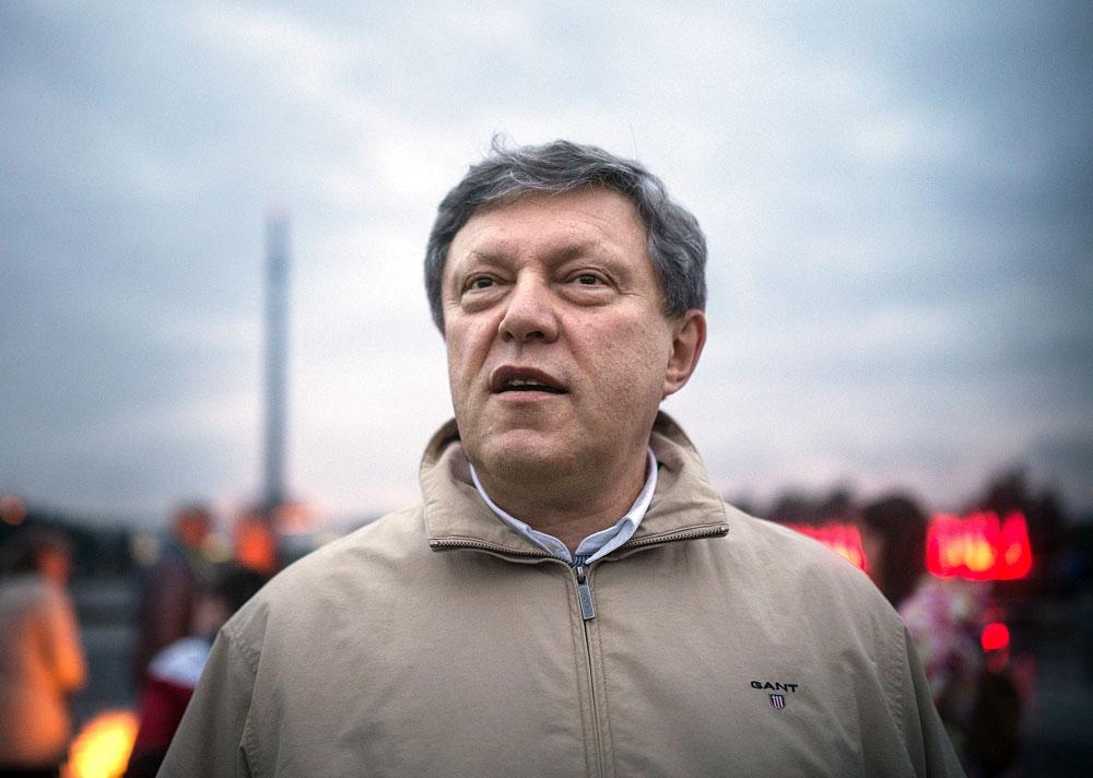 Der Gründer von Jabloko und der erste Präsidentschaftskandidat Grigorij Jawlinskij ist ein kompromissloser Kremlkritiker.