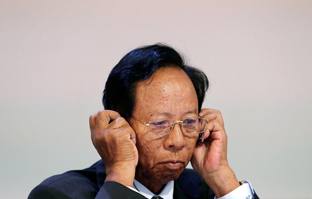 Cambodia's Defense Minister Gen. Tea Banh.