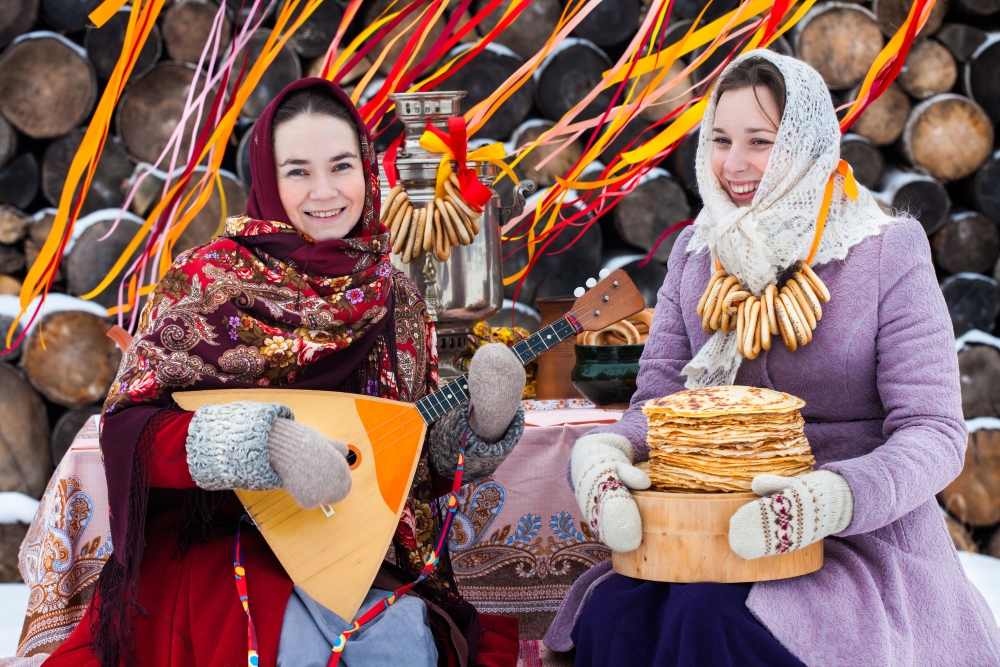 Usually there is a great celebration during the week of Maslenitsa.