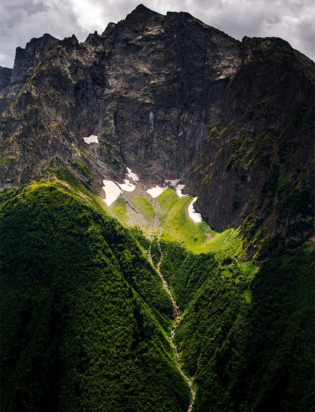 """Идеален почеток на патувањето. Национални парк """"Тебердински"""" на Кавказ."""