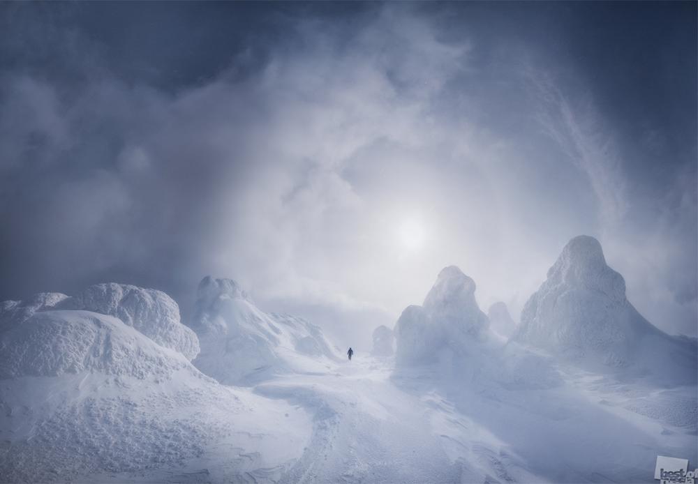 Бела тишина, северен Урал.
