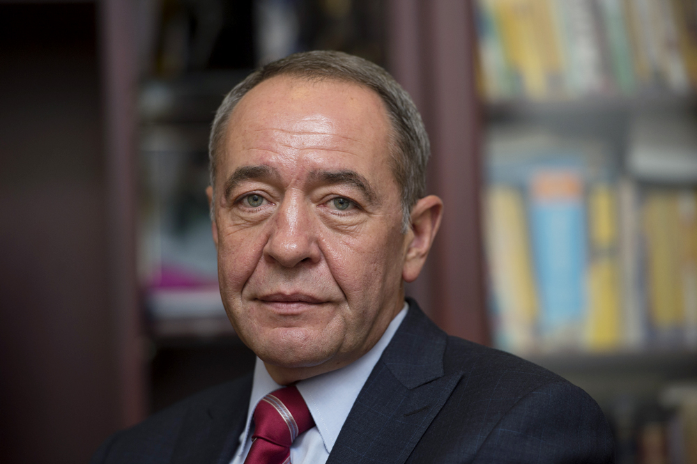 Russia's former Press Minister and former head of Gazprom-Media Mikhail Lesin.