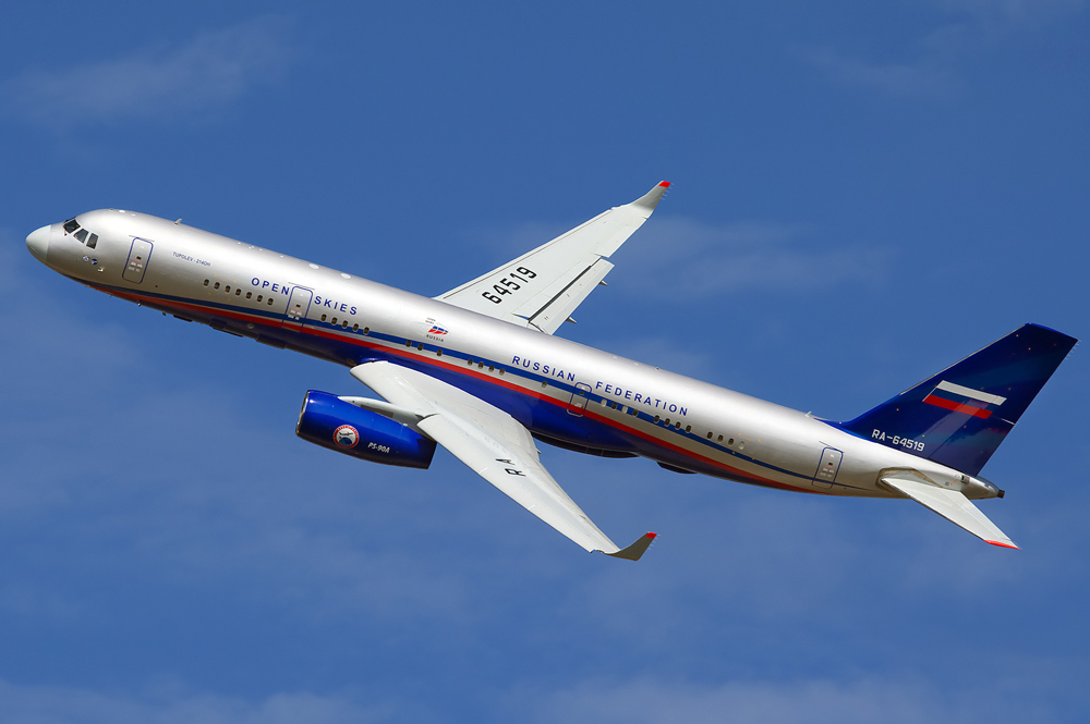 The system, specifically designed for Open Skies flights, includes two Tu-214ON planes.