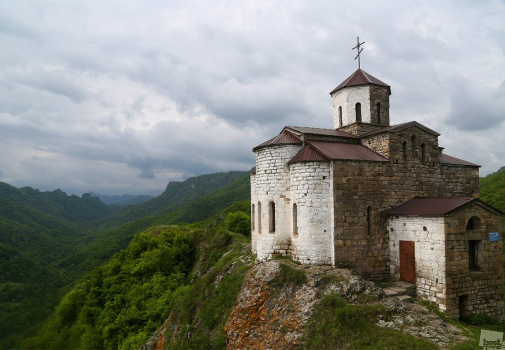 The 10th-century Shoana Church in the Karachay-Cherkess Republic is one of Russia's most ancient temples.