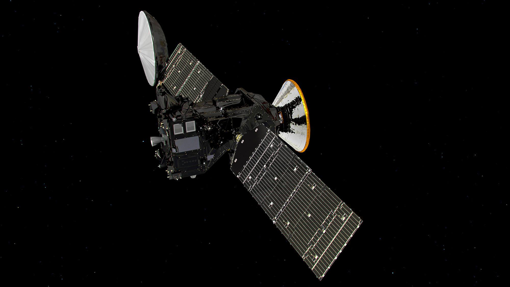 The spacecraft of the Russian-European mission ExoMars.