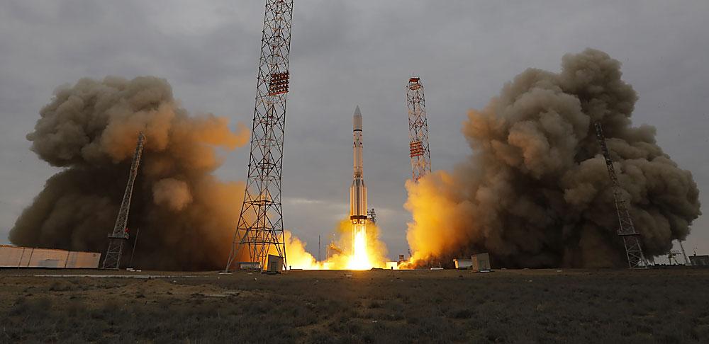 Diese Woche startete die Weltraumexpedition ExoMars in Baikonur.
