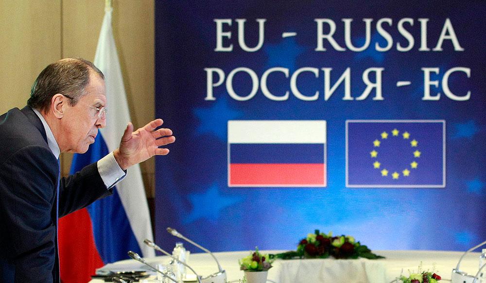Der russische Außenminister Sergej Lawrow.