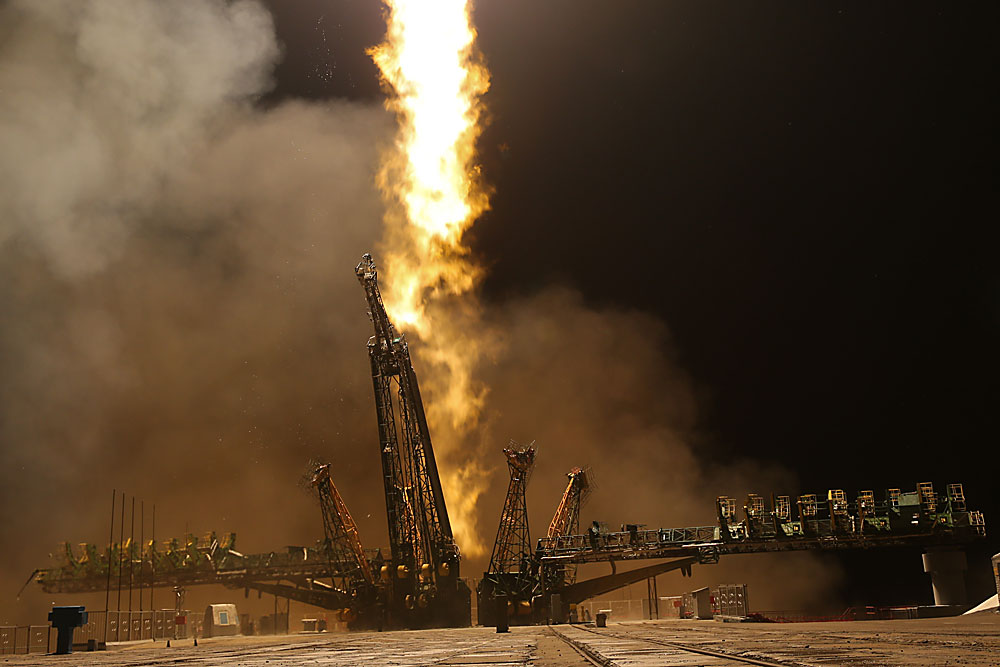Лансирање ракете Сојуз ТМА-20М, 19.03.2016, Бајконур
