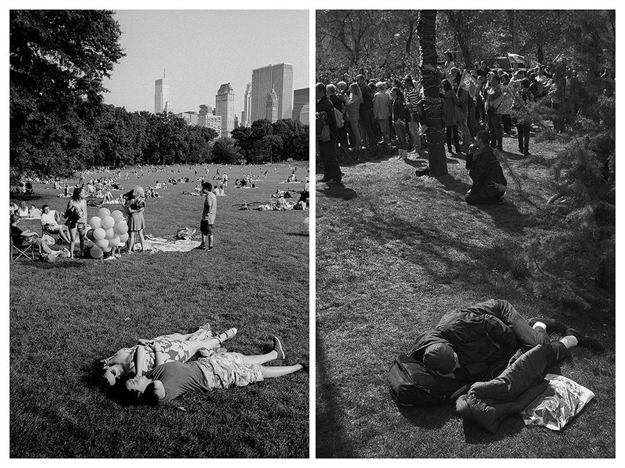 Докато сравнявах снимките на тези два града, постепенно започнах да намирам прилики между тях. Два мегаполиса, разположени толкова далече един от друг, а толкова близки в пространството на съзнанието ми. Вертикалните секции започнаха да се подреждат във верига от време и пространство. Те се допълваха взаимно и създаваха една поредица от спомени, които овладяваха съзнанието ми отново и отново.